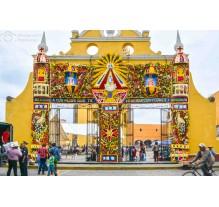 Fiesta de los floricultores, Virgen de los Remedios,Cholula 2015