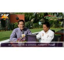El personaje de la semana Gregorio Porrás - La lunita