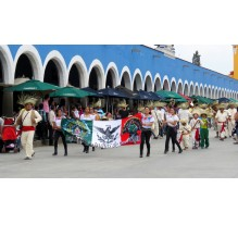Camino al Carnaval de Cholula: Mascaritas