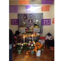 Paseo por las ofrendas de Cholula 2014