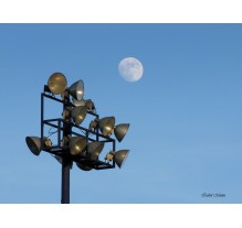 Luna de Noviembre sobre Cholula