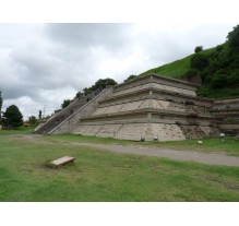 What visit in Cholula?
