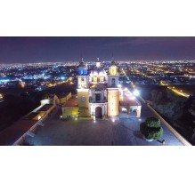 Cholula desde el aire (Dron)