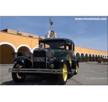 Salón del auto antiguo 2015 San Pedro Cholula