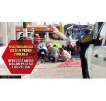 Multi homicida ofrecerá cerca de medio millón de pesos para salir libre