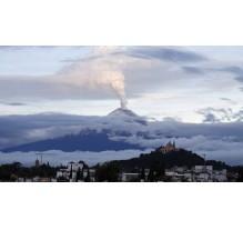 Reportan 127 exhalaciones y cinco explosiones en Popocatépetl