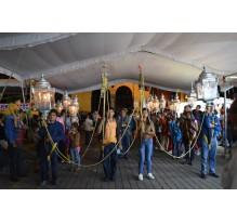 Crónica de la procesión de los faroles 2015 - Puebla noticias