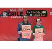 Feria del chile en nogada en San Pedro Cholula del 6 al 9 de Agosto